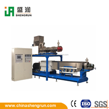 global applicable Floating Fish Feed Twin Screw Extruder/Fish Food Extruder Machine