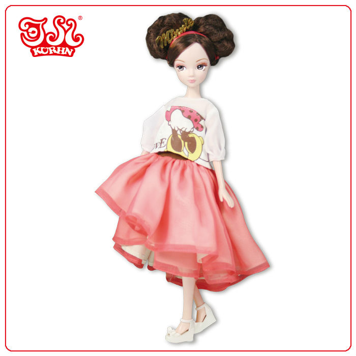 Disney hot sell dressed up doll toy