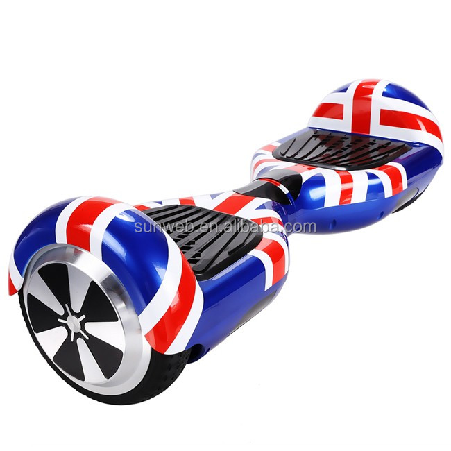 6.5 Inch electric scooter 2 wheel go board with LG battery UK plug Plum round Ancheer AM002732