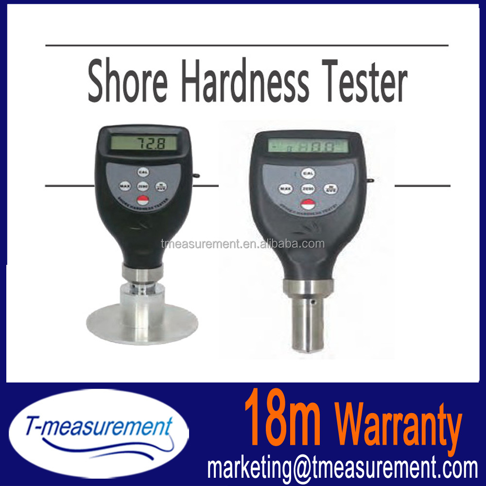 Display by LCD shore hardness tester/hardness meters for sale
