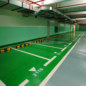 Epoxy Based Stone Hard Parking Lot epoxy resin flooring