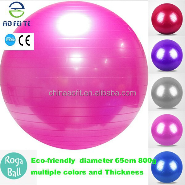China online shopping exercise ball with handle rhythmic gymnastic ball gym ball