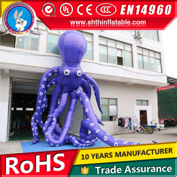 giant inflatable octopus cartoon for sale