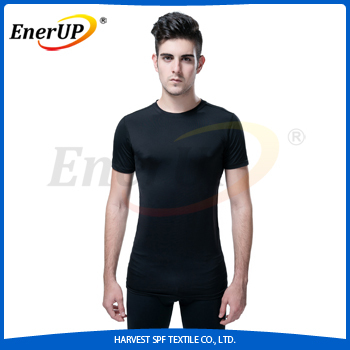 wholesale china Copper Compression short sleeve custom tshirt