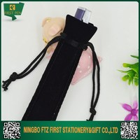 Cheap Velvet Folding Pencil Case