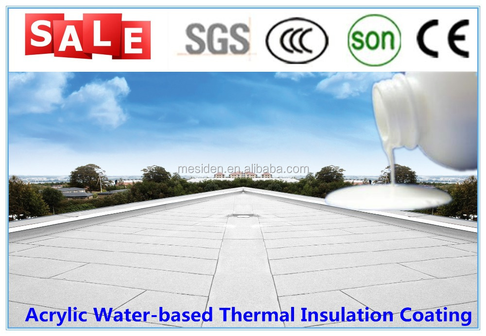 Acrylic Water-based Heat Insulation Coating / Insulating Mould Coating/ Heat Insulation Acrylic paint