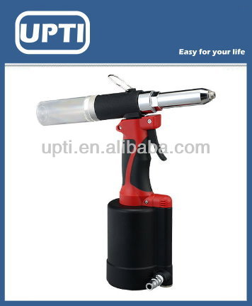Heavy duty pneumatic hydraulic riveter