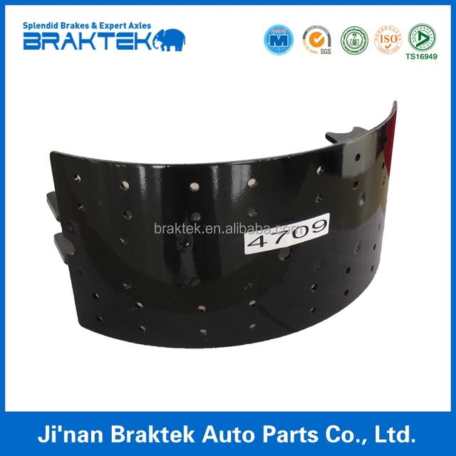 Semi-trailer brake shoe(4709)