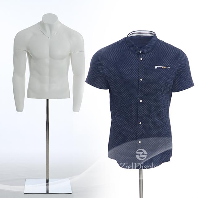 Cheap upper half body male torso mannequin