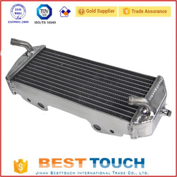 34MM 2ROW engine radiator for YAMAHA YZ250 2002-2015
