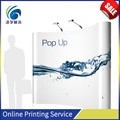 Advertising durable large size custom printed pop up display