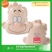Custom logo Happy Mood Dude promotional anti stress toys for promotion and stress reliever