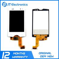 Wholesale touch display digitizer lcd for sony xperia zr c5502 c5503,lcd screen for sony
