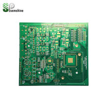 Single Side PCB, Electronic fr4 PCB and PCBA