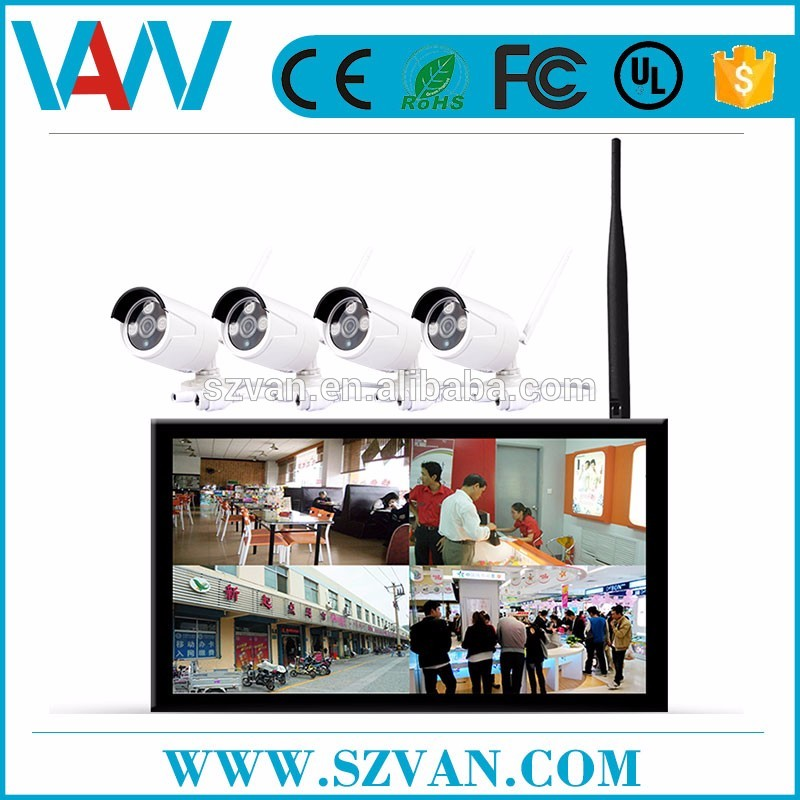 2017 hot sale ipc h.264 nvr kits for ip camera home body building