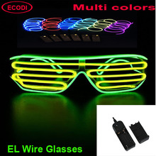 high quality el wire framed glasses el event sunglasses