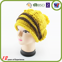 New Fashion Handmade Knitted beanie hats Colourful Warm crochet Winter Hats