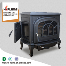 Hot selling HiFlame cast iron fireplace fire king wood stove with low price HF737U