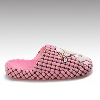 HC-946 cute fancy cheap wholesale women's christmas indoor slipper