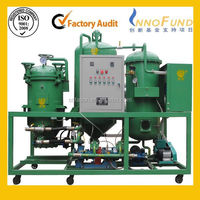 FASON DTS change black to yellow color used transformer oil filter machine