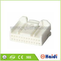 amp pcb connector male female auto plastic clip connector
