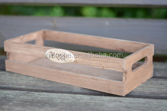 Personalized Tray Wedding wooden tray in natural wooden color