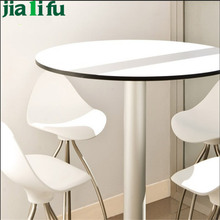 Jialifu waterproof modern restaurant round dining table