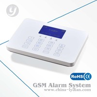 GSM wireless security LCD alarm system LYD-118, home security system reviews