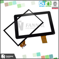 USB Interface Capacitive Type 10 Inch Touch Screen Car DVD Player Replacement