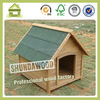 SDD0401 unique outdoor wooden dog cage
