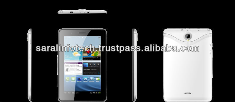7inch Cortex A9 MTK8377 Dual core Android 4.1 tablet pc mid