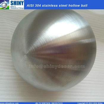 6inch stainless steel hollow ball brushed