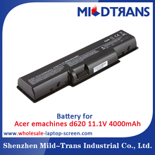 High quality replacement laptop battery acer emachine E725 E525 D525 D725 D620 G620