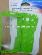 Colorful Screen Protector Film for Samsung Galaxy S3 i9300