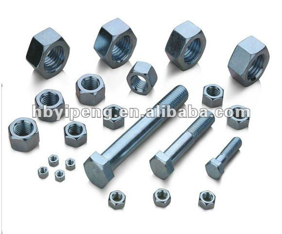 hot dip galvanized electrical 8.8 bolts and nuts