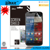 Factory Price Bubble Free cell phone pet material anti uv matte anti glare screen protector for Motorola moto x