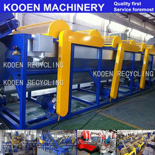 KOOEN CE ISO Certified plastic pet dirty bottle recycle machine Excellent Quality