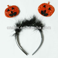 Pumpkin head band