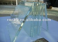 qingdao 2mm to 19mm clear float glass with CE and ISO high quality clear glass