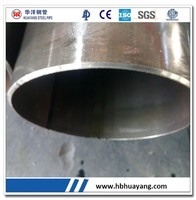 30 inch steel Pipe ERW steel pipe Oil and Gas steel large diameter 9 inch pvc pipe