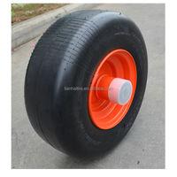 13 x5.00 13x500 semi pneumatic lawn mower wheel