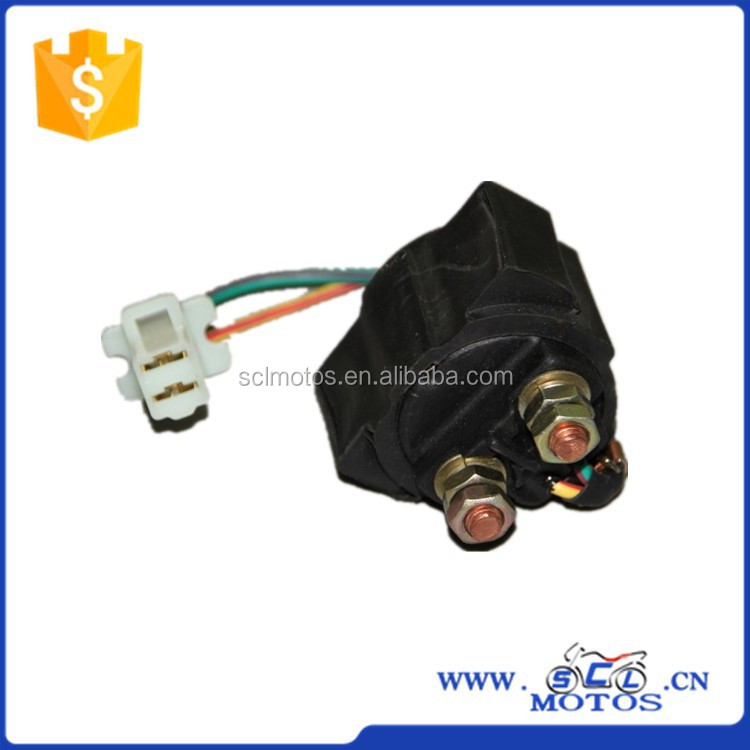SCL-2013090216 Motorcycle 12V Starter Relay for KYMC GY6 Engine Parts
