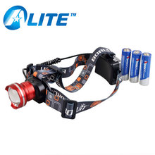 Best Selling Zoomable Rechargeable Camping LED Headlamp