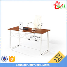 Manufacturer wholesale high quality easy move simple metal table leg computer desk table office C06