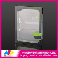 Wholesale high quality clear cell phone case with printing