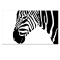 Custom Canvas Print Contemporary Canvas Printing Black and White Zebra Picture Canvas Artwork Home Decoration