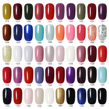 Any 100pcs from 240 colors Solid Uv Led Soak Off Gel Nail Polish For Gelishs Color Wholesale