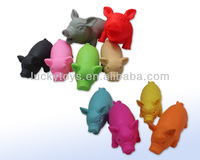 soft plastic smooth bellow pigs toys Large size soft plastic smooth bellow pigs toys