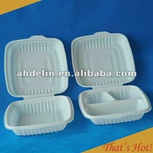 Biodegradable Disposable Lunch Box, Clamshell, Food Container