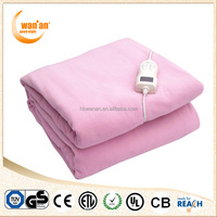 Xinle Factory Offer Anti-pilling Washable Polar Fleece Heated Electric Blanket